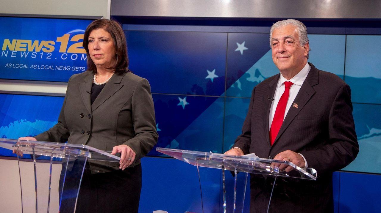 Singas, McQuade spar in Nassau DA debate