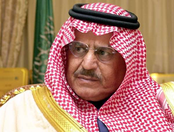 In this file photo, Saudi Interior Minister Prince