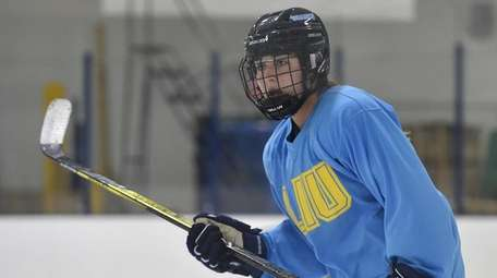 Grace Dima, an LIU women's ice hockey player