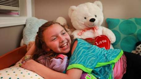 Ten-year-old Taylor Ryan, who suffers from a rare