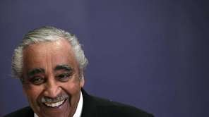 Rep. Charles Rangel (D-N.Y.) arrives on Capitol Hill