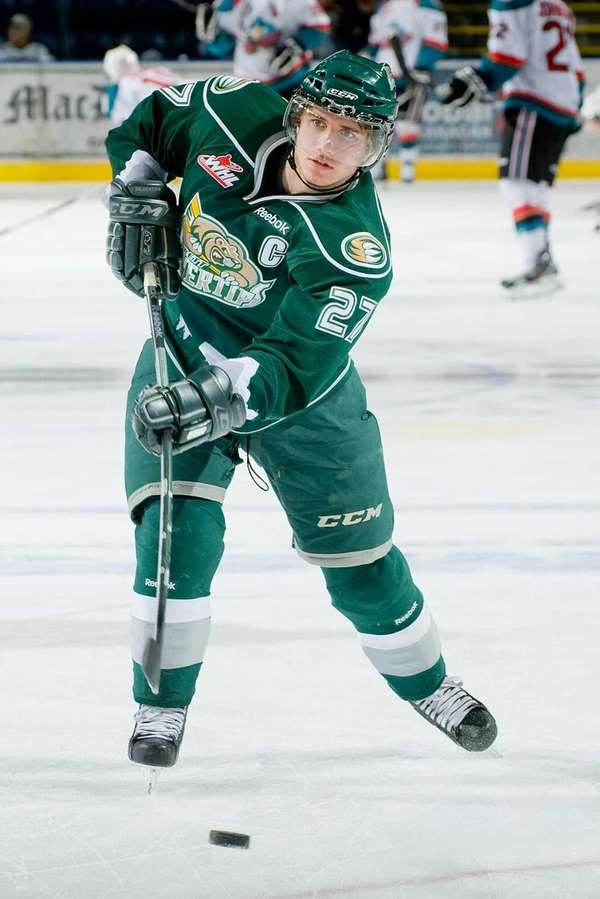 Ryan Murray of the Everett Silvertips takes a
