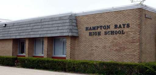 Hampton Bays High School in Hampton Bays on