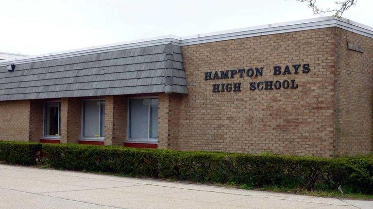 Hampton Bays High School in Hampton Bays on