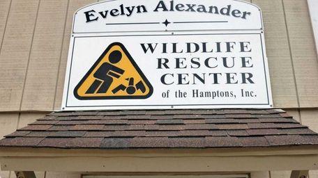 The Evelyn Alexander Wildlife Rescue Center in Hampton