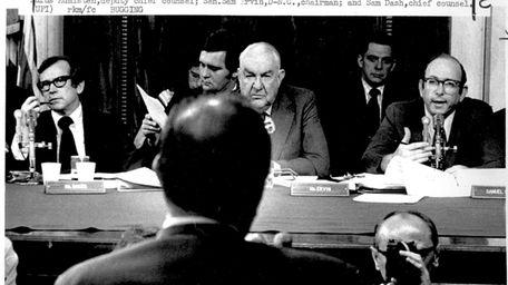 John Ehrlichman, President Richard Nixon's ousted domestic affairs