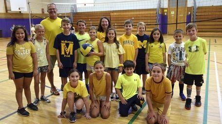 Students at McKenna Elementary School in Massapequa wore