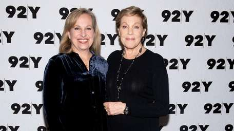 Oscar winner Julie Andrews and her daughter, Emma