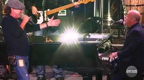 """Billy Joel appeared on """"Brian Johnson: A Life"""