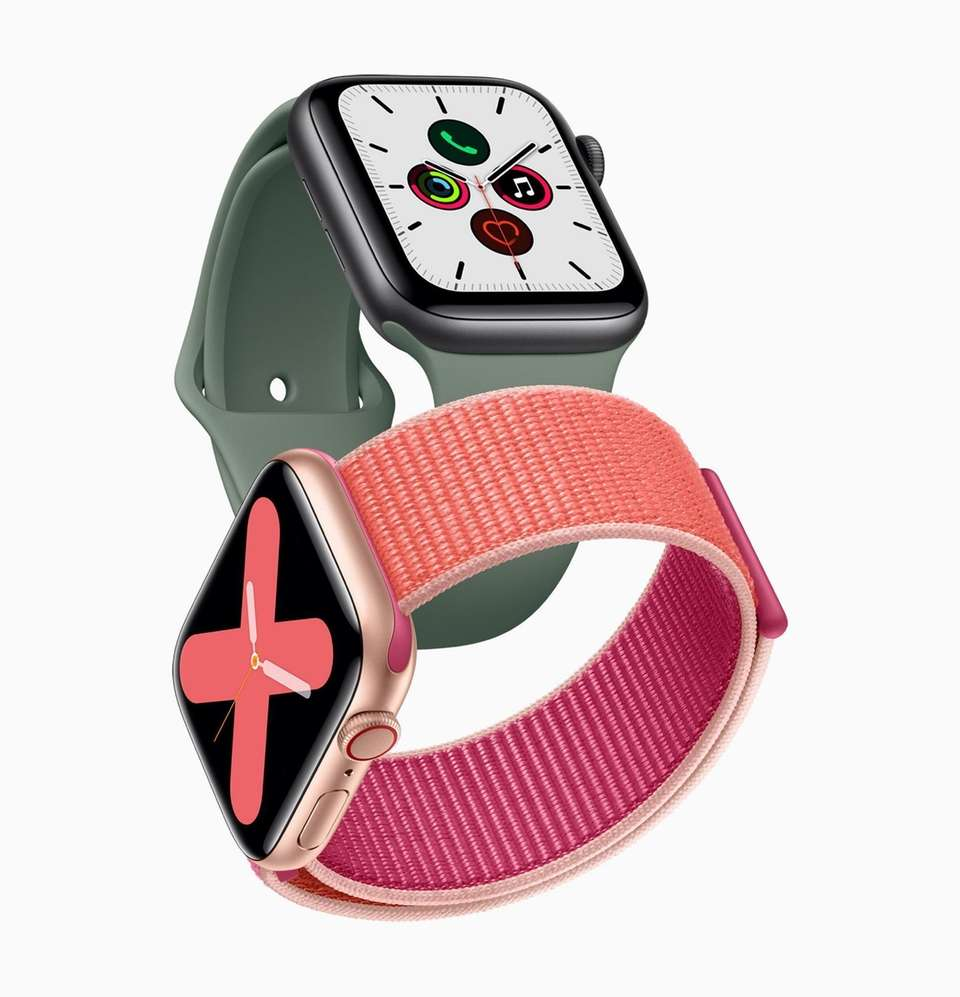 The Apple Watch Series 5 lets you access