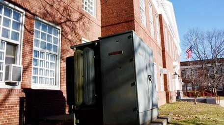 Glen Cove school officials said this transformer is