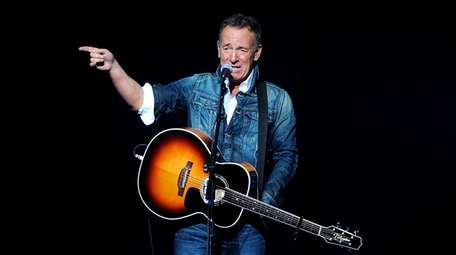 Bruce Springsteen performs at the 12th annual Stand