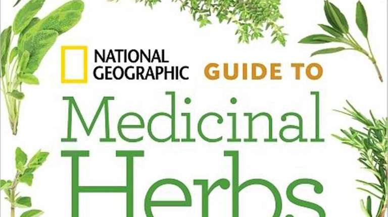 Cover of NATIONAL GEOGRAPHIC GUIDE TO MEDICINAL HERBS: