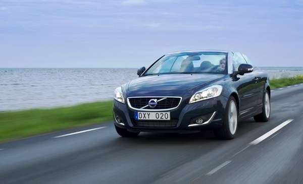 2012 Volvo C70 convertible, the Swedish automaker's latest