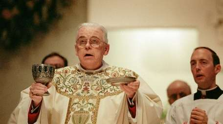 Bishop John McGann celebrates Easter Mass at St.