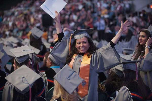 Nassau Community College's commencement took place Wednesday evening