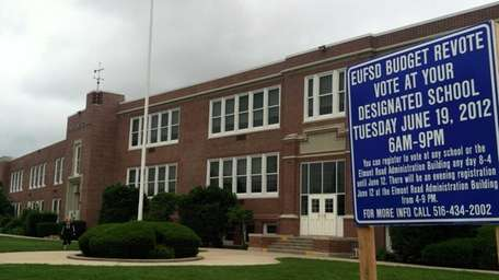 Covert Avenue School in Elmont, where residents are