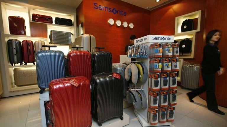 Samsonite is recalling 250,000 Tokyo Chic suitcases worldwide