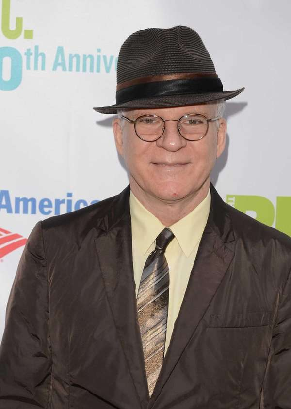 Actor Steve Martin attends the Public Theater 50th