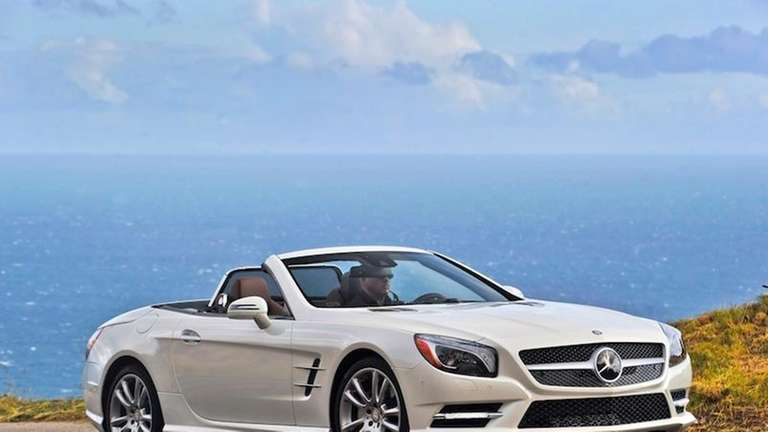In the Mercedes pantheon, the SL550 is the