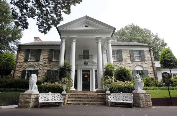 Graceland, Elvis Presley's home in Memphis, Tenn., the