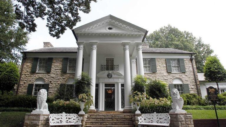 Graceland, Elvis Presley's home in Memphis, Tenn., the
