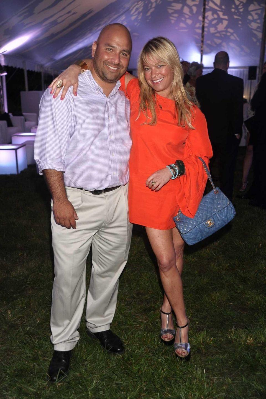 Frank Quevedo and Jen Blum attend the South