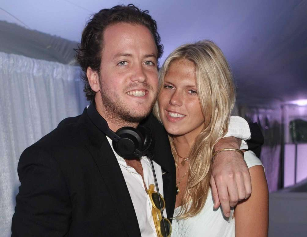 DJs Nick Cohen and Alexandra Richards, daughter of