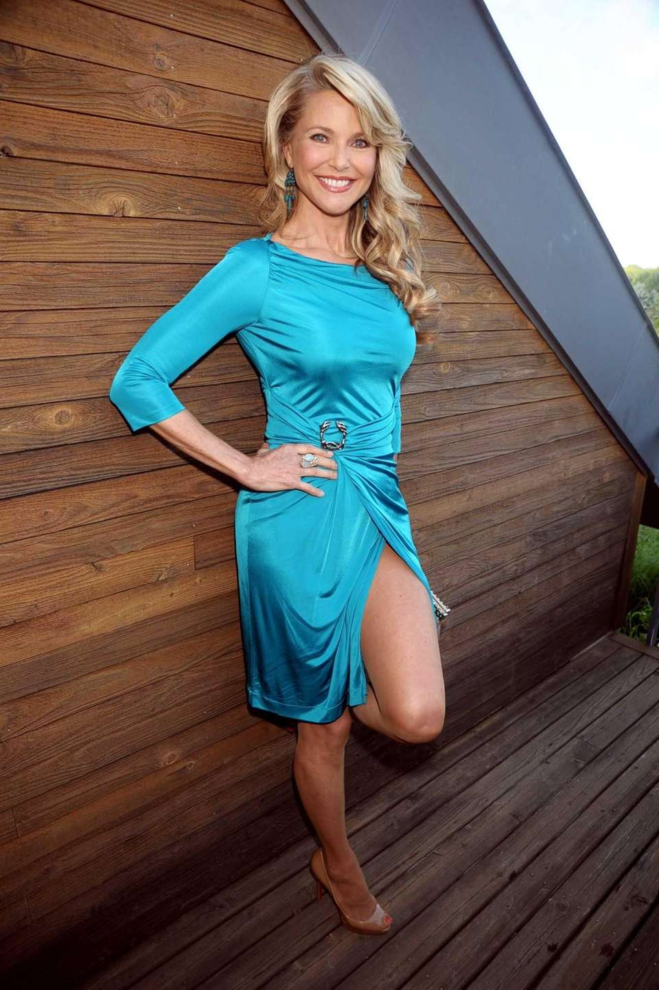 Christie Brinkley was honored at the South Fork