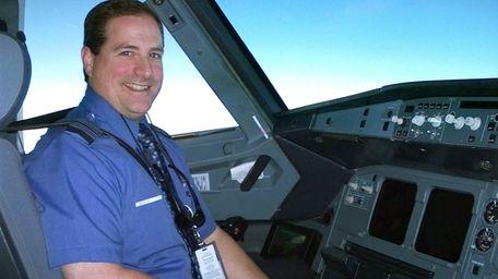 Chief training pilot, Capt Joe DeVito of Long