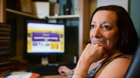 Sue Marturano of Hicksville was laid off in