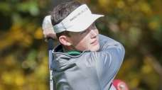 Palmer VanTuyl of Ward Melville tees off on