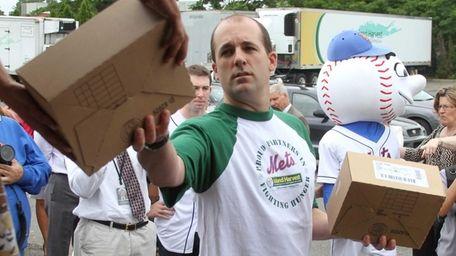 Pitcher Tim Byrdak of the New York Mets,