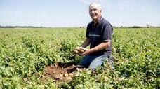 Third-generation potato farmer Martin Sidor, of Mattituck, is