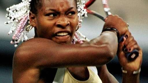 SERENA WILLIAMS - 1999, 2002, 2008, 2012 United
