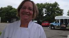 Nancy Squires-Fraser, 53, is food service supervisor of