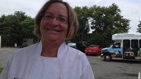 Nancy Squires-Fraser, 53, is food service supervisor of
