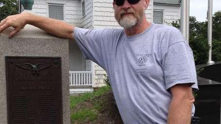 Richard Steiber, 56, a member of the American
