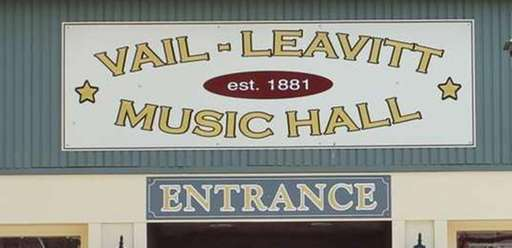 Built in 1881, the Vail-Leavitt Music Hall is
