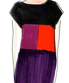A sketch from the upcoming Narciso Rodriguez for