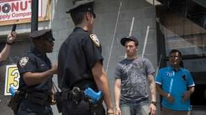 The NYPD invited the media to their training