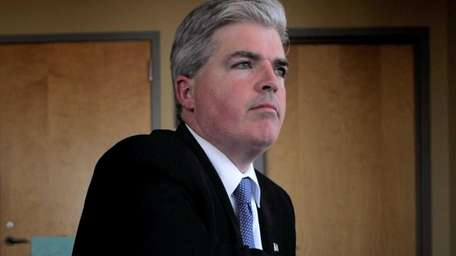 Suffolk County Executive Steve Bellone. (April 5, 2012)