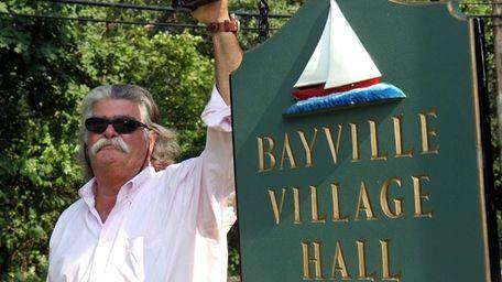 Harry E. Pinkerton III, the newest Bayville trustee