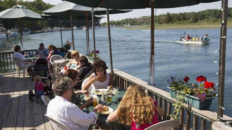The Old Mill Inn in Mattituck offers outdoor