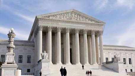 The U.S. Supreme Court building in Washington. (Jan.