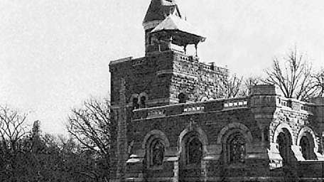 This photograph of Belvedere Castle in Central Park