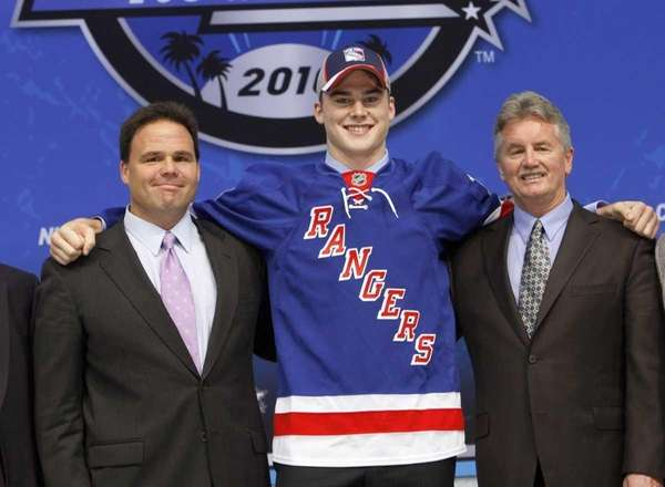 Dylan McIlrath of Canada was the tenth pick