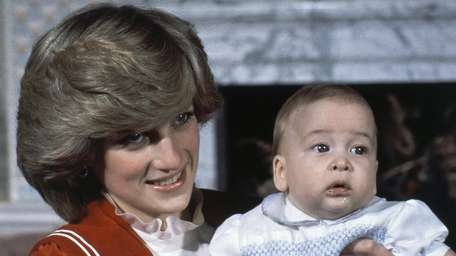 Prince William, the 6-month-old son of British Prince