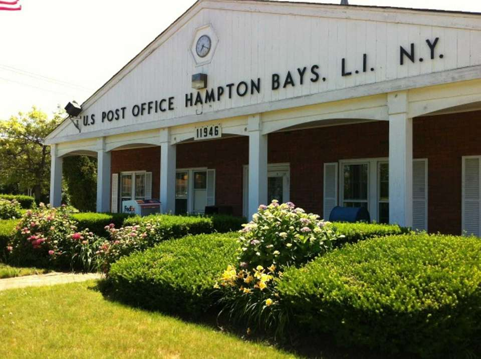 The Hampton Bays U.S. post office is located