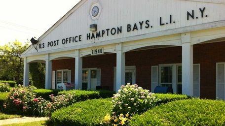 The Hampton Bays U.S. post office is located